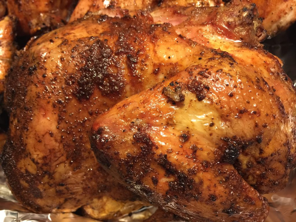 Juicy Grilled Chicken Halves Heiferdust
